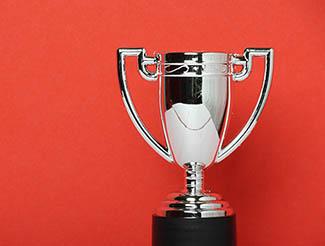 winner award trophy