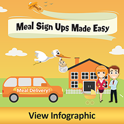 Meal Sign Ups Made Easy. Click to view Infographic
