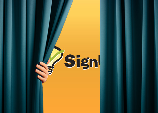 volunteer sign up sheet SignUpGenius site redesign